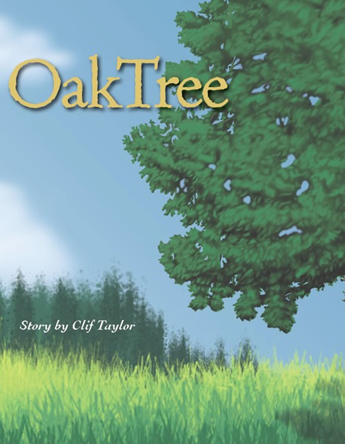 Oak Tree by Clif Taylor